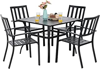 PHI VILLA 5 Piece Metal Outdoor Indoor 37