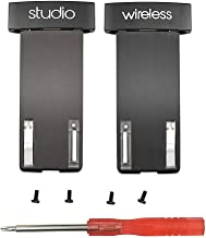 Studio 2 Wireless Hinges Replacement Metal Folding Hinges Set Repair Parts Compatible with Beats Studio 2.0 Wireless Headphones (Black)