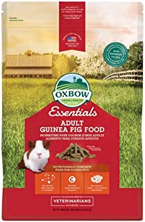 Oxbow Essentials Adult Guinea Pig (Timothy Based), 5-Pound Bag