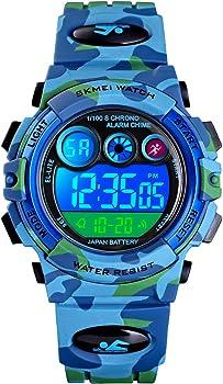 Tephea Kids Waterproof Digital Watch