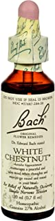 Bach Flower Remedies Essence White Chestnut - Calms The Mind - Homeopathic - 0.7 fl oz (Pack of 2)
