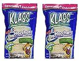 KLASS Horchata Instant Drink Mix, 14.1 oz (Pack of 2)