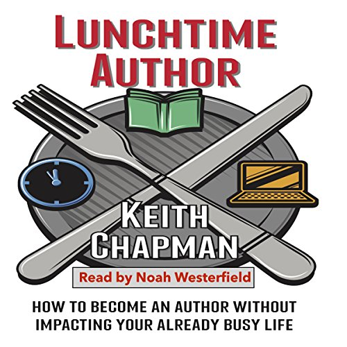 Lunchtime Author audiobook cover art