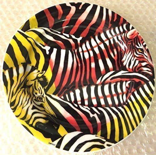 ZIBU BOPLA Porzellan SAFARI ZEBRA Kleiner Teller 21 cm Small plate 10 5/8 in. Assiette petite 21 cm Piatto piccolo 21 cm