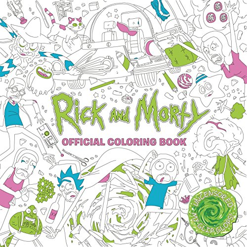 Titan Books: Rick and Morty Official Coloring Book (Colouring Books)