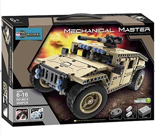 Hummer Sand R/C 8014Fernbedienung zu bauen 502PCS