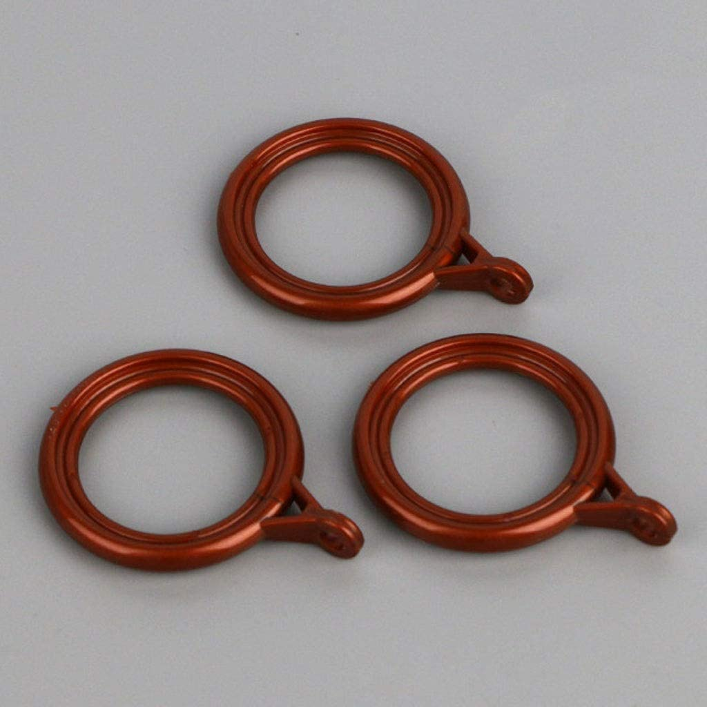 zxb-shop Curtain Eyelet Rings New color Rings,Plastic Inches Outlet sale feature 1.4