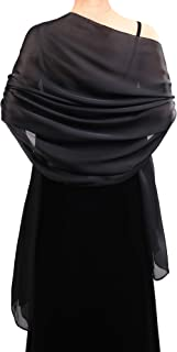 Women Satin Scarves Long Shawl Wrap Light Soft Sheer Scarf for Wedding Party Everyday Accessory