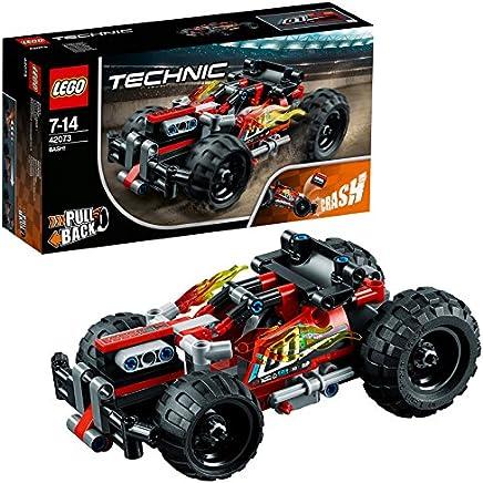 LEGO Technic 42073 Rückziehauto Set für geübte Baumeister Bunt