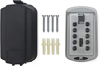 Key Lock Box LB-30. Hide A Key Realtor LockBox for Real Estate. Wall Mount Key Safe for House with Master Code Security Lock Combination.Hide a Key Outside