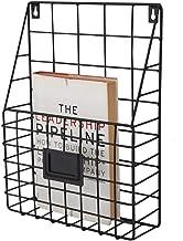 Nordic Style Bookshelf Simple Study smeedijzer Metaal Magazine opslag Rack Office Decoratie van de muur (Size : 1 tier)