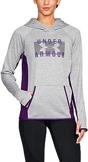 Under Armour Women's Fleece Block Hoody-Twist
