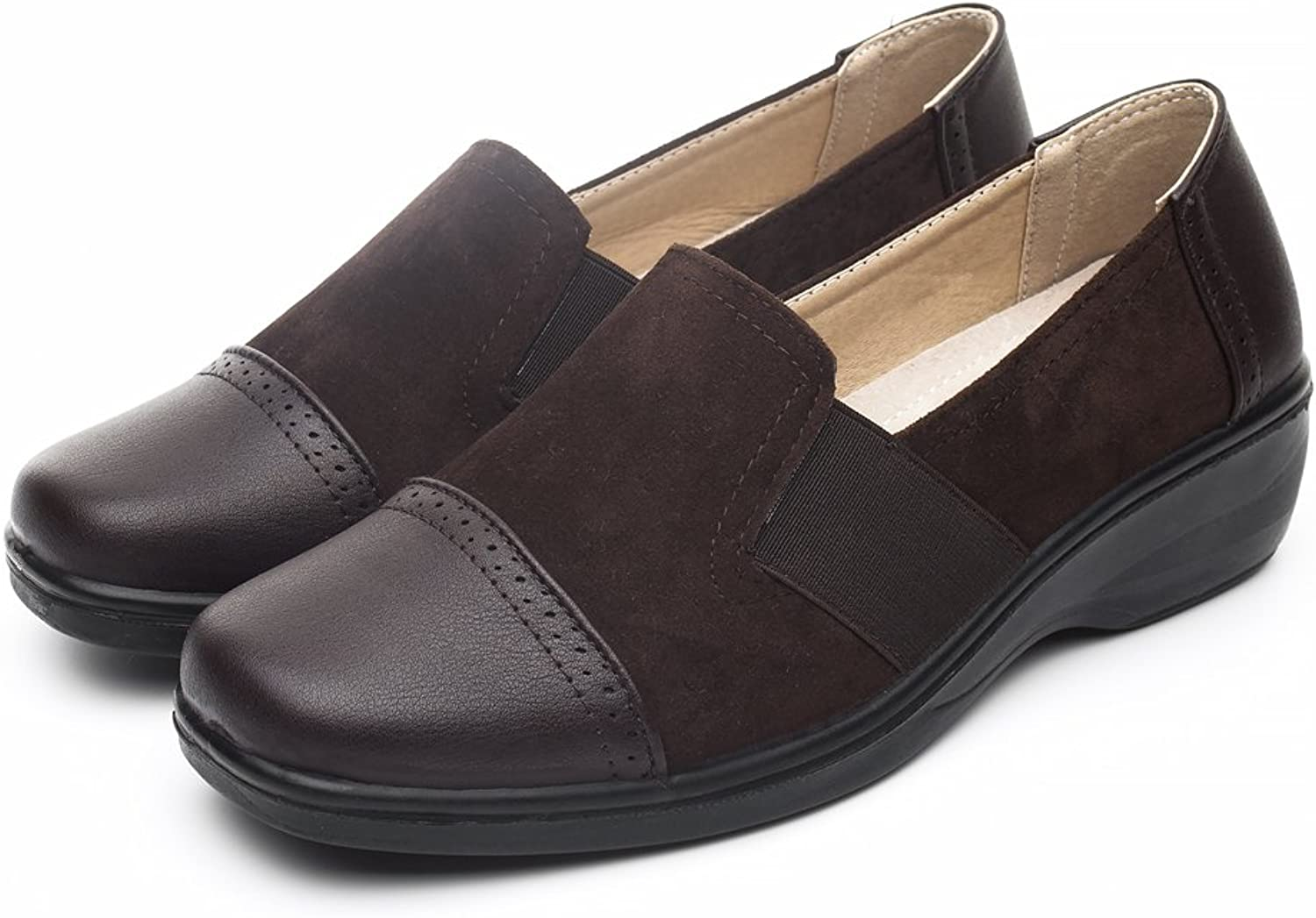 DRKA Women's Casual Loafer Comfort Slip On Flat shoes