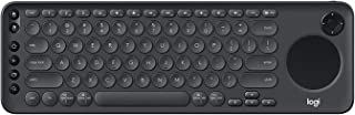 Logitech K600 TV - TV Keyboard with Integrated Touchpad and D-Pad Compatible with Smart TV (Renewed)