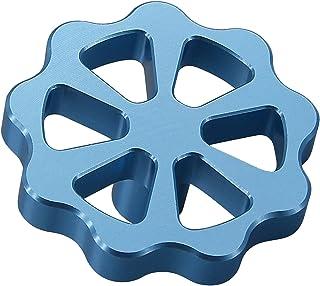 Ronyme Peças de impressora 3D de metal Botão da extrusora Parafuso manual de alimentação para Ender 3 Volante do motor do ...