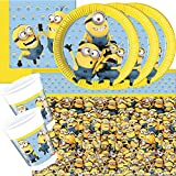 37-teiliges Party-Set Minions - Lovely Minions - T