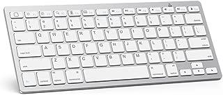 OMOTON Ultra-Slim Bluetooth Keyboard Compatible with iPad 10.2-inch/ 9.7-inch, iPad Air..