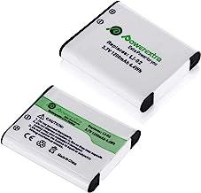 Powerextra 2 x Batteries Compatible with Olympus LI-50B,Pentax D-LI92, Ricoh Pentax Optio I-10 RZ10 RZ18 WG-1, WG-2, WG-2G...