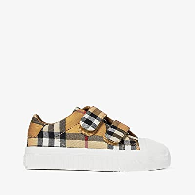 Burberry Kids Belside VC (Toddler) (Antique Yellow/Optic White) Kid