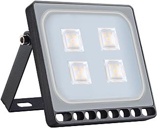 ACHICOO フラッドライト IP65 20W 200-240V 1600LM LED 防水 ナイトランプ 装飾 明るい 高輝度 室内 室外 夜間照明 中庭 庭 通路