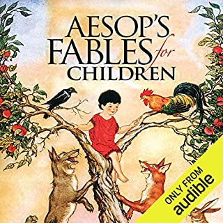 Aesop's Fables for Children audiobook cover art