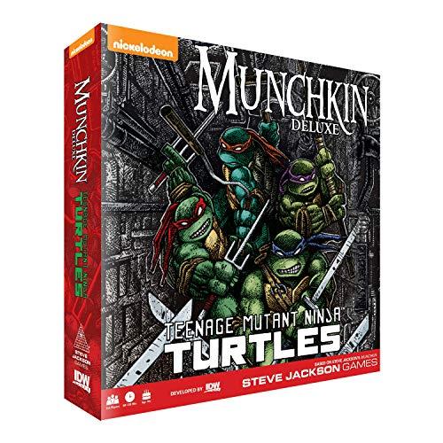 IDW Games 1575 - Munchkin: Teenage Mutant Ninja Turtles Deluxe