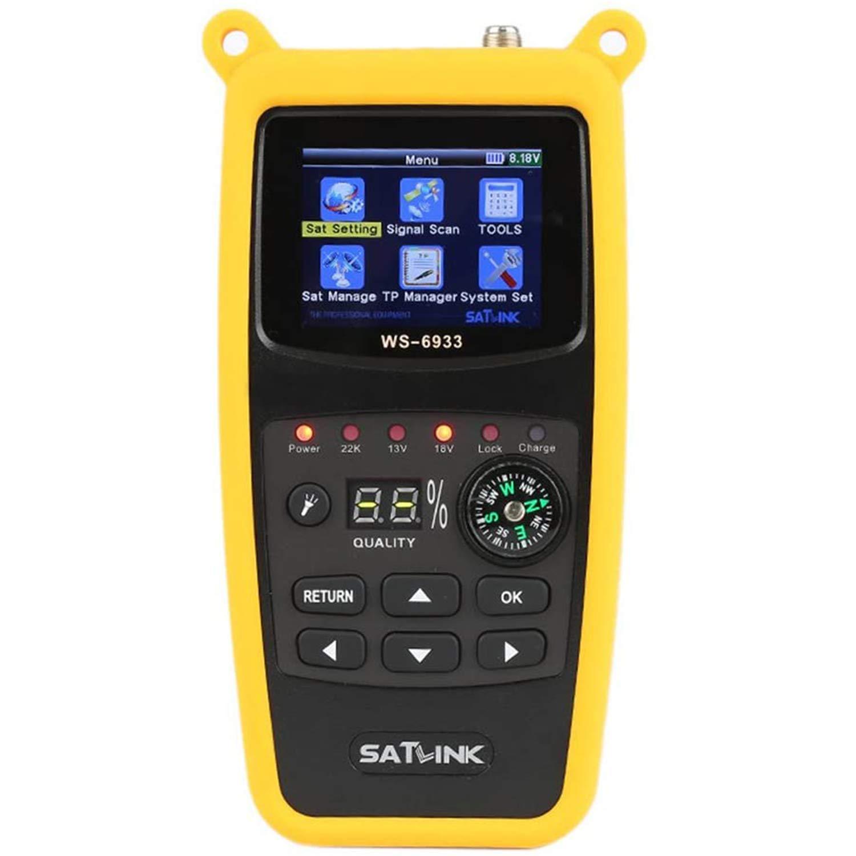 ICQUANZX WS-6933 DVB-S2 FTA CKU Digital Satellite Meter Fi Band Direct sale of manufacturer New Orleans Mall