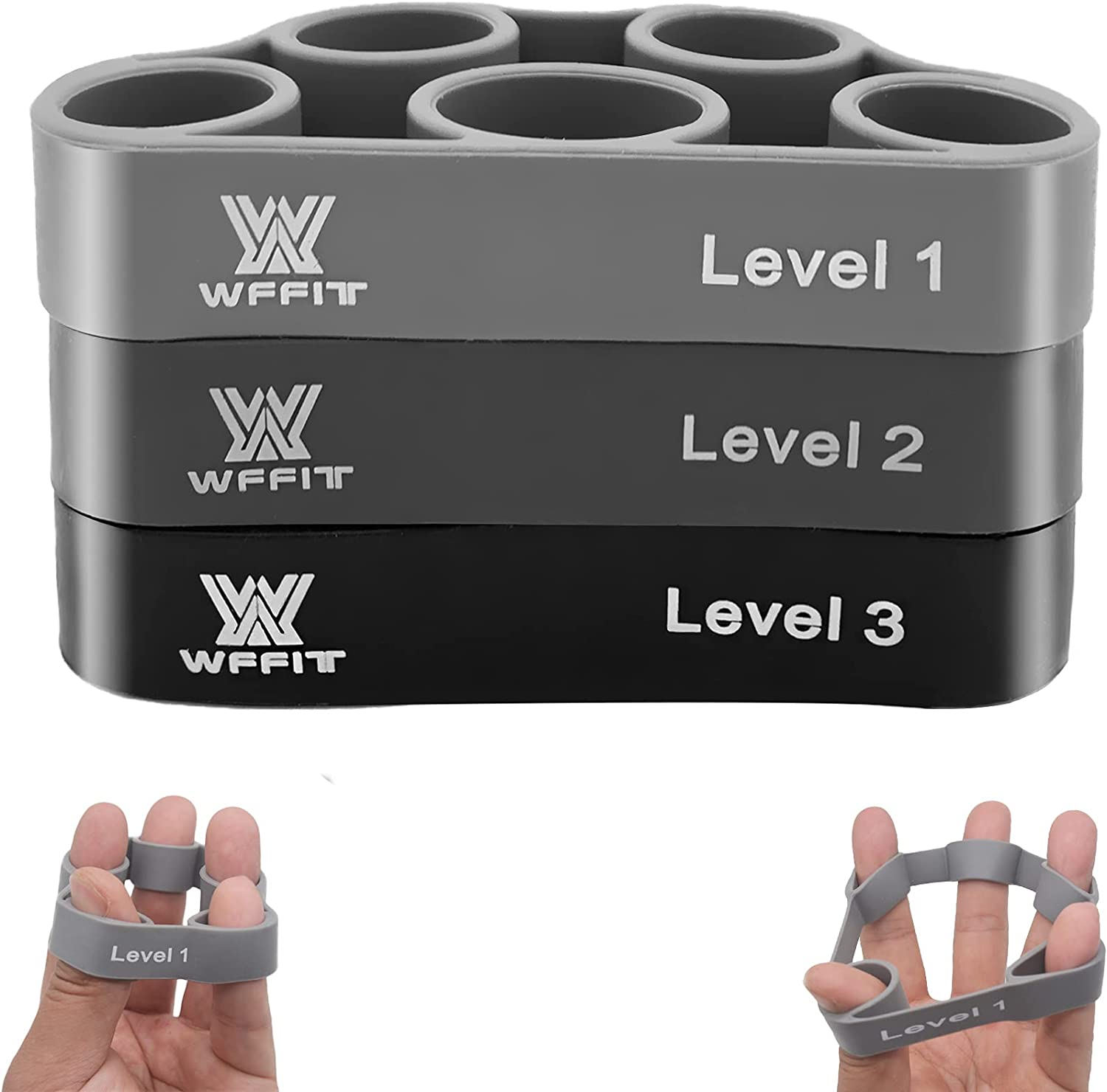 WFFIT Finger Exercise Resista Grip Discount mail order Stretcher, OFFicial
