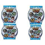 Yo-kai Season 1 Medals Blind Bag 4 Pack Bundle by Yokai