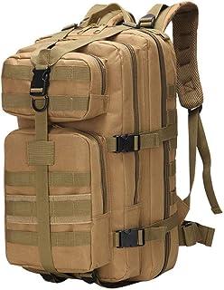 Jtoony - Mochila táctica para montañismo, 800D, cifrado 35L, Oxford, impermeable, militar, supervivencia, asalto, camping, senderismo, para hombres, deportes al aire libre, mochila