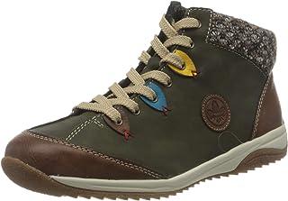 Rieker L5222-24, Sneaker a Collo Alto Donna