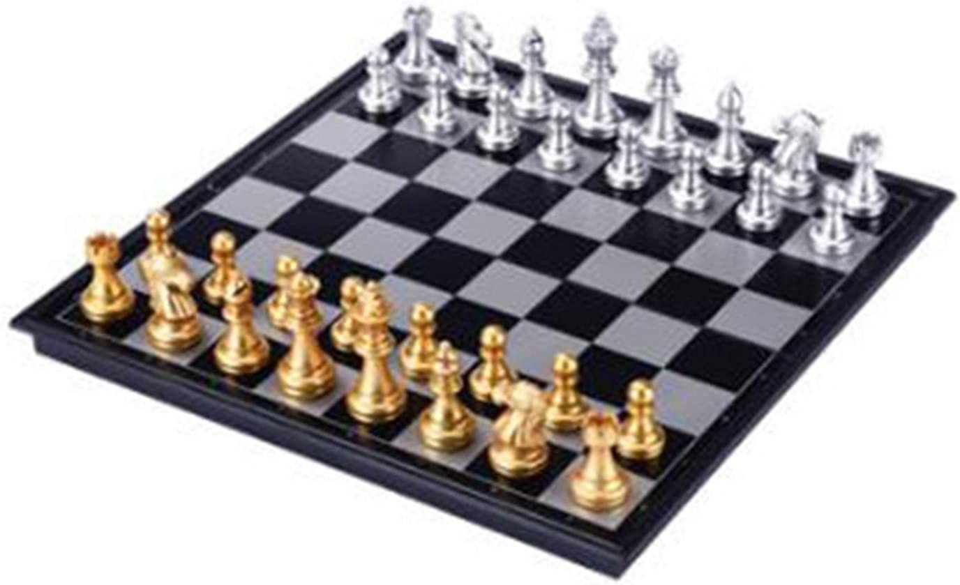 WSJQWHW Extra Large Max 67% OFF Magnetic Chess Portable Set Board Dedication Se