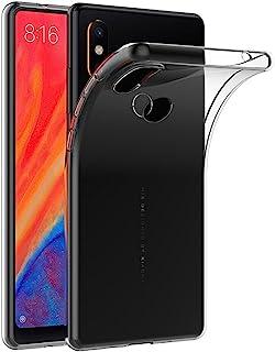 MaiJin Funda para Xiaomi Mi Mix 2S (5.99 Pulgadas) Resistente a arañazos TPU Cubierta de Delgada Capa de Silicona en la Parte Posterior