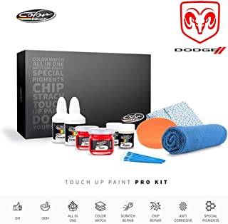 Color N Drive | Dodge T67 - Indigo Blue Pearl/Huntington Blue Pearl Touch Up Paint | Compatible with All Dodge Models | Paint Scratch, Chips Repair | OEM Quality | Exact Match | Pro