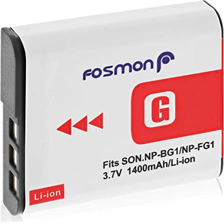 Fosmon 3 7v 1400mah Akku Für Np Fg1 Kamera
