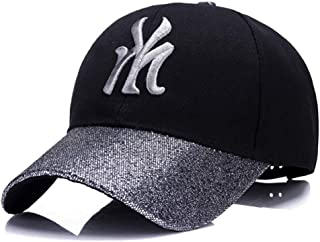 Hat Fashion Women's New Fashion Outdoor Sun Visor Autumn and Winter Mao Qing Baseball Cap/Leisure Cap Fashion Accessories (Color : Silver)