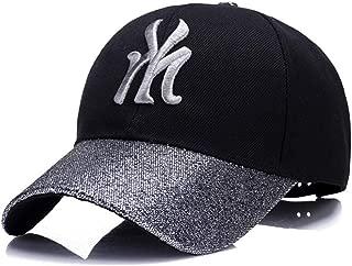Hats Women's New Fashion Outdoor Sun Visor Autumn and Winter Mao Qing Baseball Cap/Leisure Cap Fashion (Color : Silver)