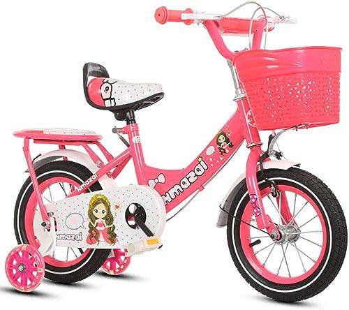 1-1 mädchen fürrad Verstellbare H  Blitz PU-R r Mountainbike Doppelbremse Kinder Sicherheit D fung 16 Zoll