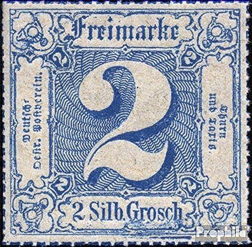 Prophila Collection Thurn und Taxis 49 Pracht geprüft 1867 Ziffer (Briefmarken für Sammler)