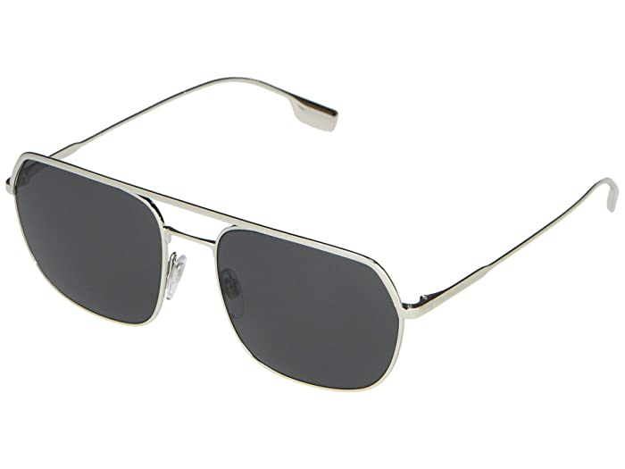 Burberry  0BE3117 (Silver/Grey) Fashion Sunglasses