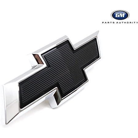 Black x Red For 2019-2021 Silverado 1500 Next Gen GM Edge Bowtie Grille Emblem