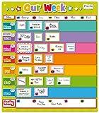 Fiesta Crafts Calendrier d'activités - Imprimé « Our Week » - Aimanté