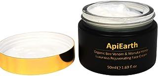 ApiEarth Organic Bee Venom Manuka, luxuriöse, verjüngende Gesichtscreme, 50 ml, Honig, 1 Stück