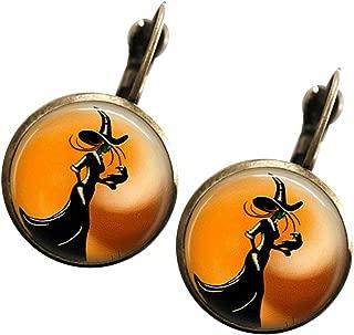Fizzybutton Regalos trompeta pendientes con alambres de oreja de Plata Plateado en Caja De Regalo