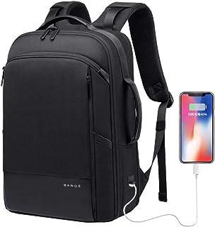Bolsos del ordenador portátil de negocios, USB tela Oxford Hombres de carga Mochila, viaje de negocios a prueba de agua multifuncional bolso de la computadora, casual alta capacidad Estudiante C