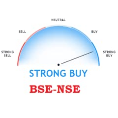 Listed more than 1000+ Indian stock market Uses more than 20+ technical analysis to indicate the price strength Strong buy, Buy , Neutral , Sell , Strong sell indications Get the Strength of the market at different time frequency. Both BSE and NSE ma...