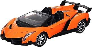 سيارة سباق مع جهاز تحكم عن بعد من اكس اف 27-16Y - برتقالي و أسود