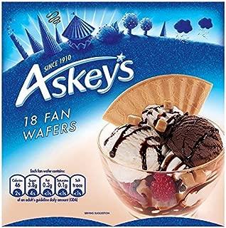 Askeys Pompadour Luxury Fan Wafer Biscuits - 18 per pack