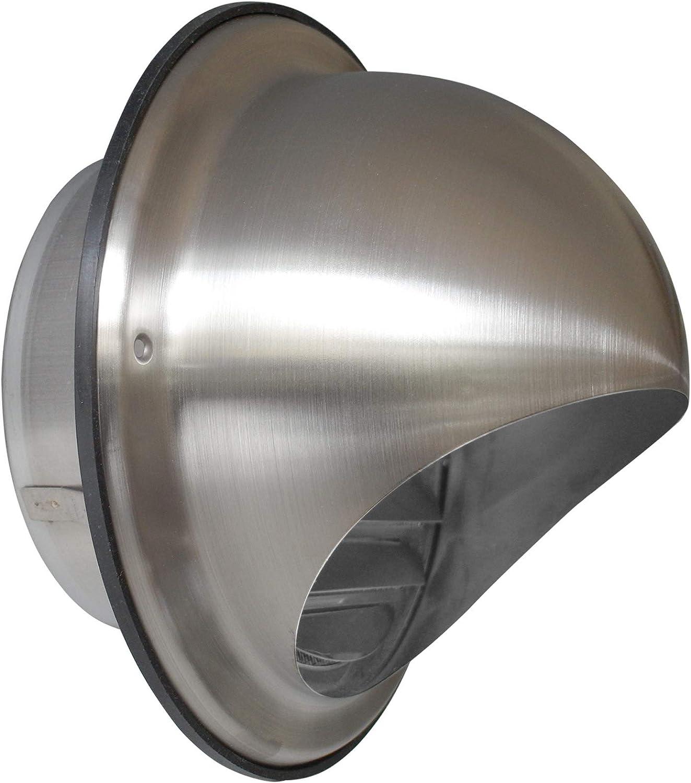 acero inox Campana Campana Bola Ø 150mm REJILLAS VENTILACIÓN LAMINADO feingitter Protección Intemperie Modelo: vla-1-150