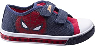 Leomil Childrens Boys Spiderman Touch Fastening Trainers